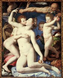 Agnolo Bronzino, Allegorie mit Venus... von AKG  Images
