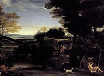 Domenichino, Landschaft mit Sylvia by AKG  Images