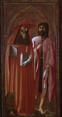 Masaccio u.Masolino/Hl.Hieronymu,Joh.Ev. by AKG  Images