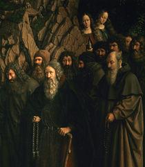J.v.Eyck, Genter Altar, Einsiedler von AKG  Images