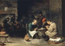D.Teniers d.J., Kartenspieler von AKG  Images
