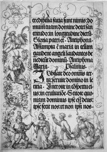 Duerer, Gebetbuch Kaiser Maximilians by AKG  Images