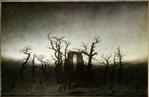 C.D.Friedrich, Abtei im Eichwald/1809-10 by AKG  Images