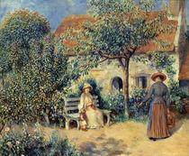 Auguste Renoir, Scene du jardin by AKG  Images