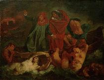 Feuerbach nach Delacroix, Dante u.Vergil von AKG  Images