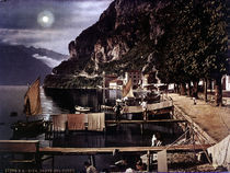 Riva / Hafen / Photochrom um 1900 by AKG  Images