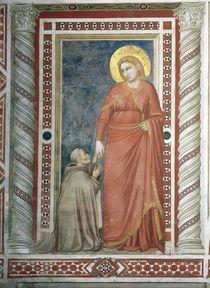 Giottoschule, Pontano vor Maria Magdalen von AKG  Images