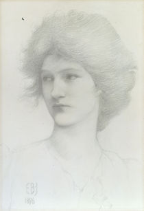 E.Burne Jones, Olive Maxse als Sirene von AKG  Images