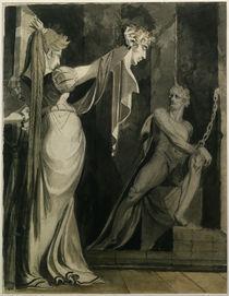J.H.Fuessli, Kriemhild zeigt Haupt Gunth. von AKG  Images