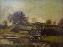 G.Courbet, Schleuse im Tal von Optevoz by AKG  Images