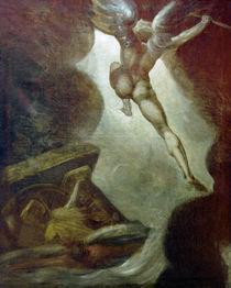 J.H.Fuessli, Satan fliegt auf... von AKG  Images