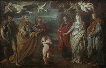P.P.Rubens, Hl. Gregor mit Maertyrern by AKG  Images