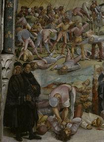 L.Signorelli,Auftreten d.Antichrist/Det. by AKG  Images