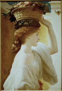 F.Leighton, Maedchen mit Blumenkorb by AKG  Images
