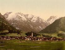 Oberstdorf i.Allgaeu / Photochrom von AKG  Images