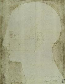 A.Duerer, Kopf eines Mannes im Profil von AKG  Images