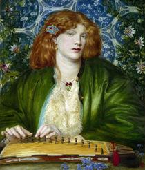 D.G.Rossetti, Das blaue Gemach von AKG  Images