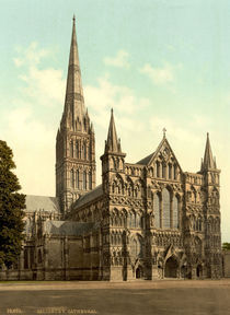 Salisbury, Kathedrale / Photochrom by AKG  Images