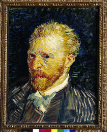 van Gogh, Selbstbildnis / Paris 1887 by AKG  Images