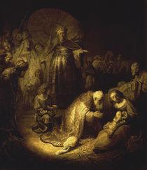 Rembrandt, Anbetung der KOenige by AKG  Images