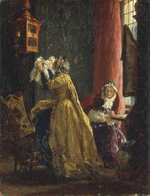 A.v.Menzel, Im Boudoir/ 1851 by AKG  Images