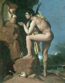 J.A.D.Ingres, Oedipus und die Sphinx von AKG  Images