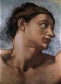 Michelangelo, Erschaffung Adams, Ausschn by AKG  Images