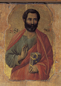Duccio, Apostel Simon by AKG  Images