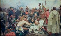 Ilja Repin, Die Saporosher Kosaken... von AKG  Images