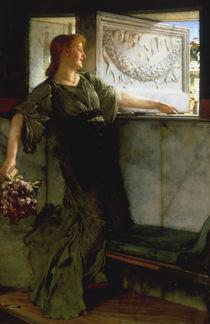 L.Alma Tadema, Ein Liebesgeschoss von AKG  Images