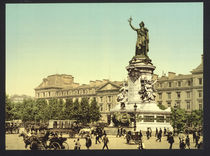 Paris, Place de la Republique/Photochrom von AKG  Images