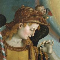 L.Signorelli, Kopf des Erzengels Michael by AKG  Images