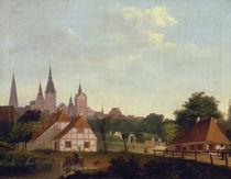 Ansicht von Rostock / Gem.v.Kersting by AKG  Images