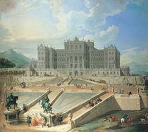 Rivoli, Schloss / Gemaelde von Pannini von AKG  Images