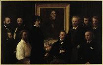 H.Fantin-Latour, Hommage a Delacroix von AKG  Images
