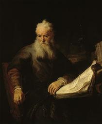 Rembrandt, Der Apostel Paulus by AKG  Images