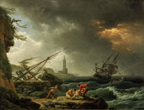 C. J.Vernet, Sturm auf See by AKG  Images