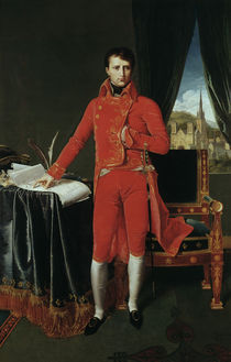 Napoleon I.als Erster Konsul/Ingres von AKG  Images