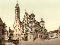 Rothenburg, Rathaus / Photochrom by AKG  Images