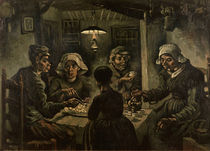Van Gogh/ Die Kartoffelesser/ April 1885 von AKG  Images