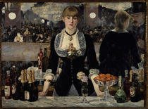 Edouard Manet, Bar in den Folies Bergere by AKG  Images