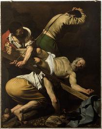 Caravaggio, Kreuzigung Petri by AKG  Images