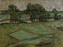 v.Gogh, Landschaft mit Bruecke ueber Oise von AKG  Images