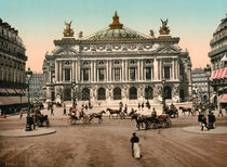 Paris,Aussenansicht Opera/Foto by AKG  Images