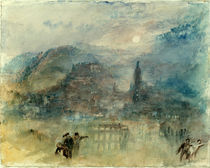 William Turner, Heidelberg, Mondlicht von AKG  Images