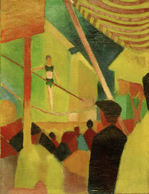 August Macke, Seiltaenzerin by AKG  Images