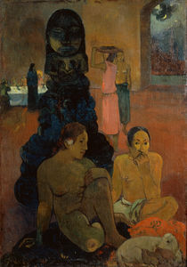 P.Gauguin, Der grosse Buddha by AKG  Images