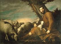 J.de Ribera, Jakob huetet Labans Herden by AKG  Images