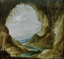 D.Teniers d.J., Blick aus einer Grotte by AKG  Images