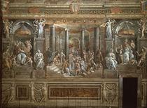 Giulio Romano, Taufe Konstantins von AKG  Images